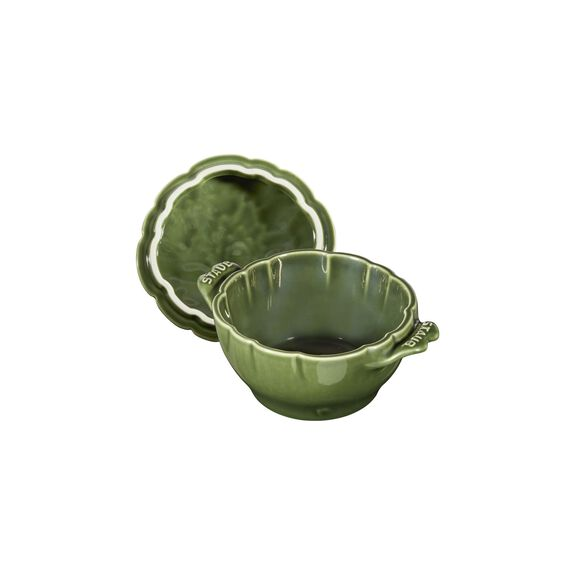16-oz Petite Artichoke Cocotte - Basil,,large 13