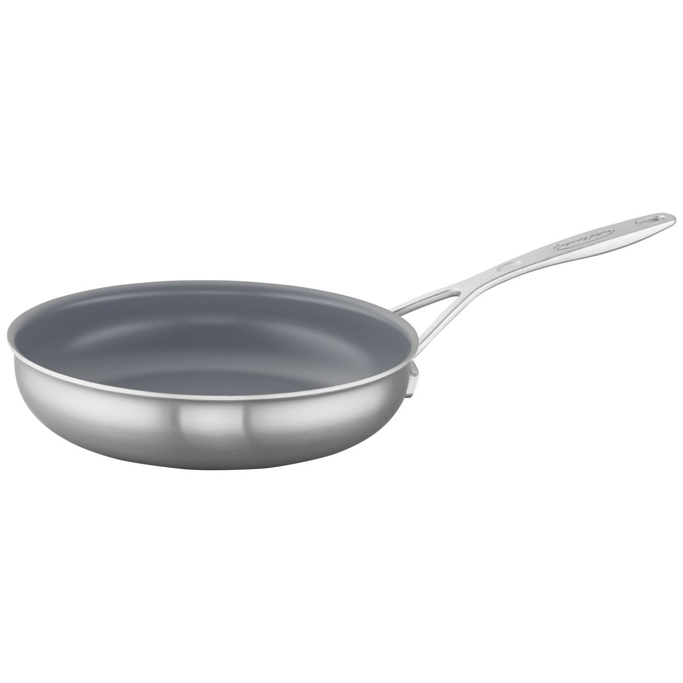9.5-inch, 18/10 Stainless Steel, Ceramic, Frying pan,,large 2