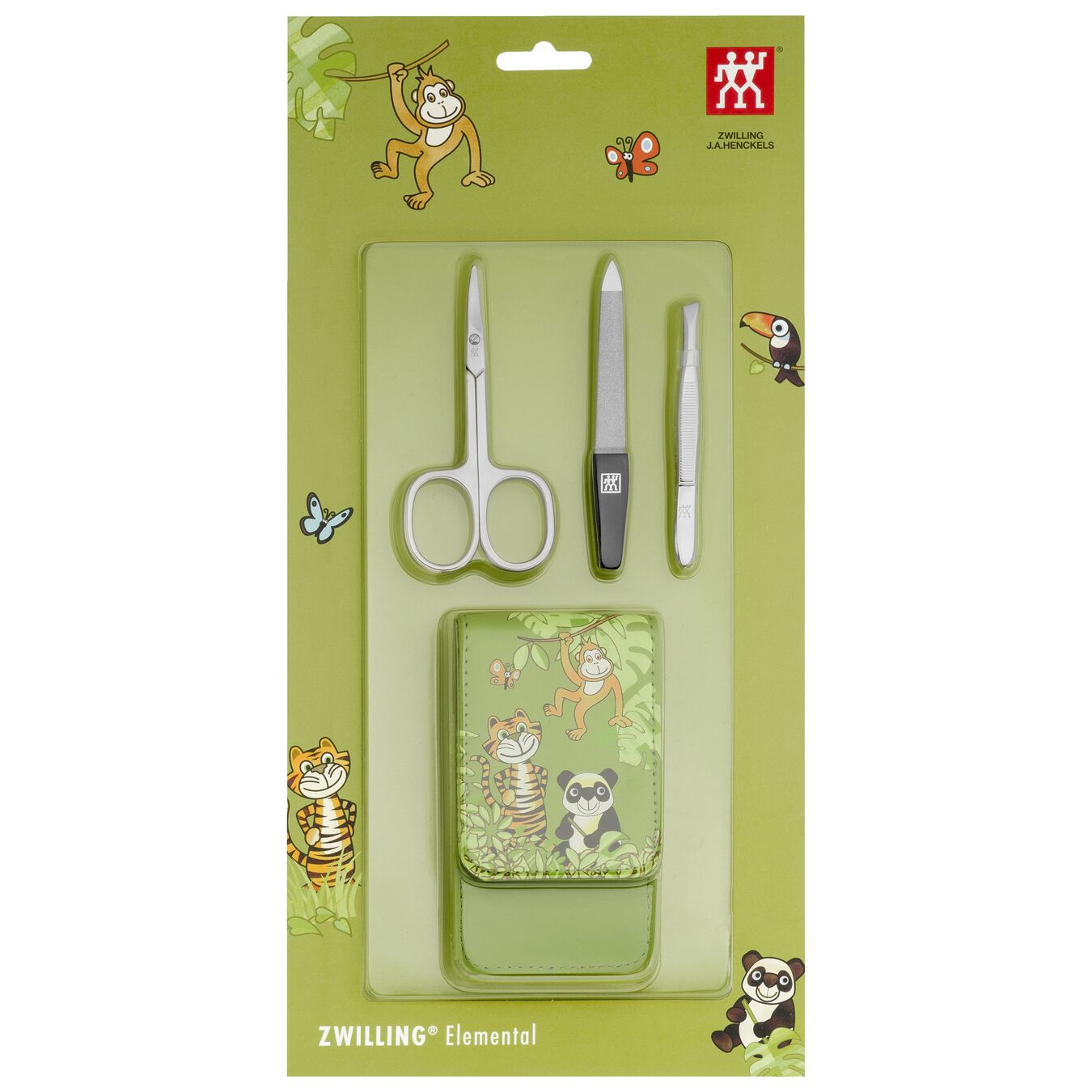 4-pc Synthetic leather Kids case,,large 2