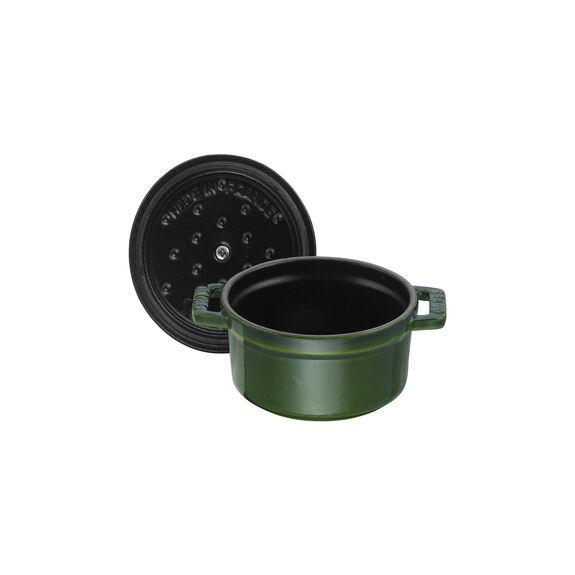 0.25-qt Mini Round Cocotte - Basil,,large 5