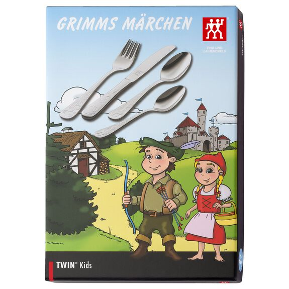 4-Piece  Children's flatware set Grimms,,large 2