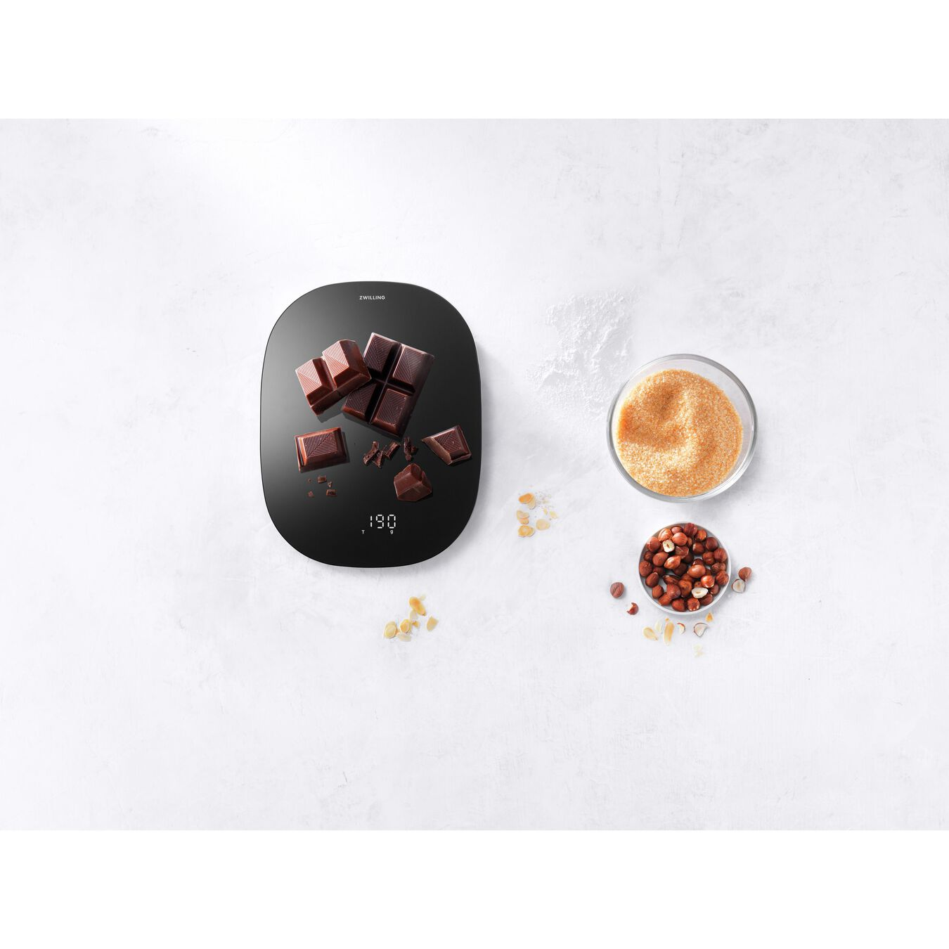 Digital Kitchen Scale - Black,,large 2