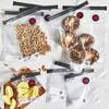 Vacuum bag set, 10-pc | Plastic,,large