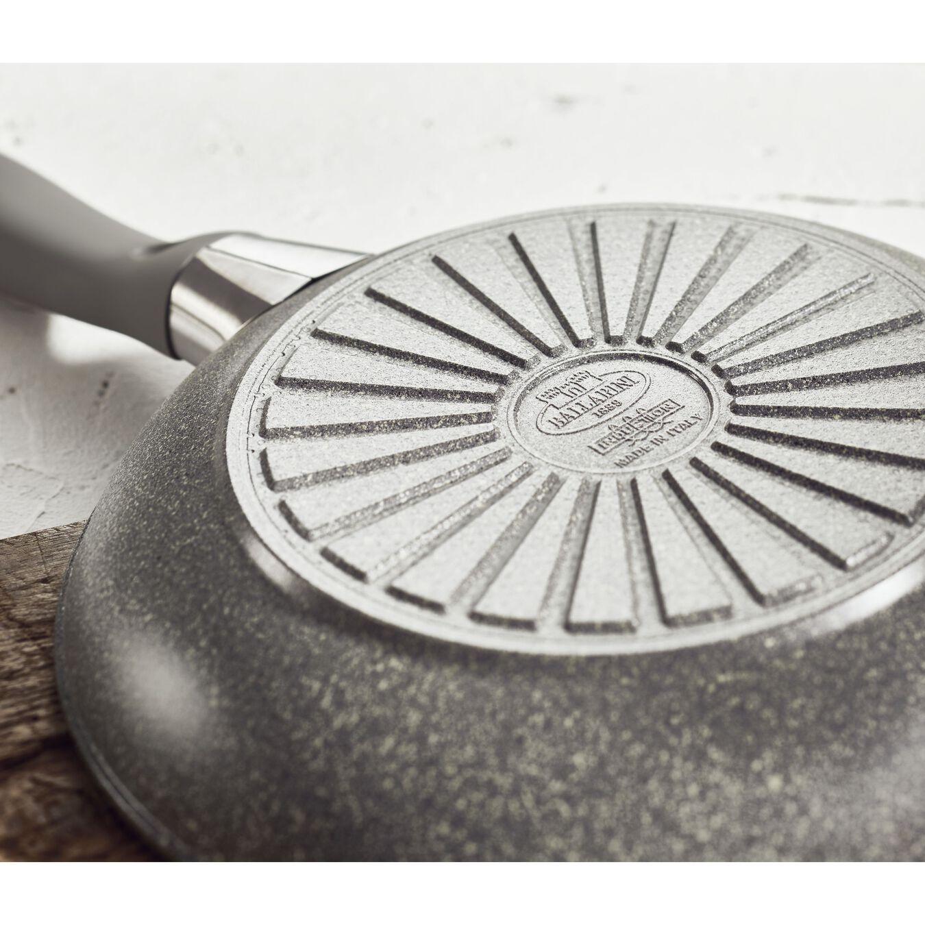 Sauteuse avec couvercle 28 cm, Aluminium,,large 2