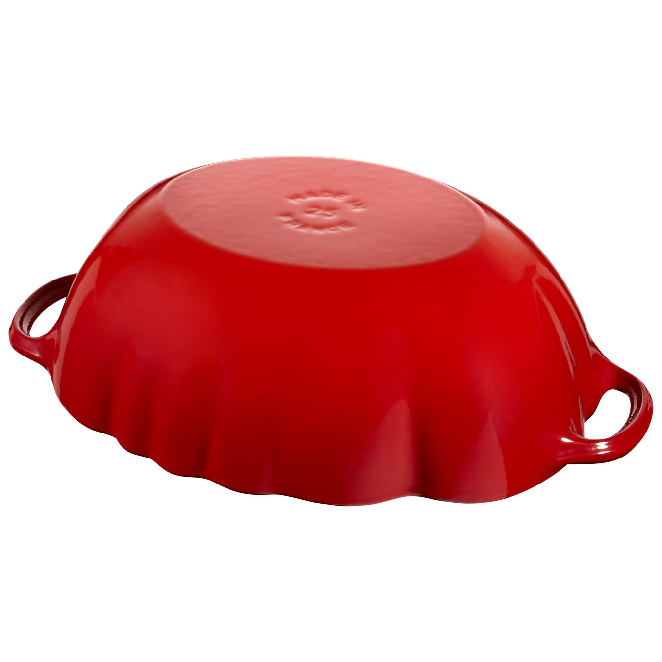 Cocotte 25 cm, Tomate, Kirsch-Rot, Gusseisen,,large 6