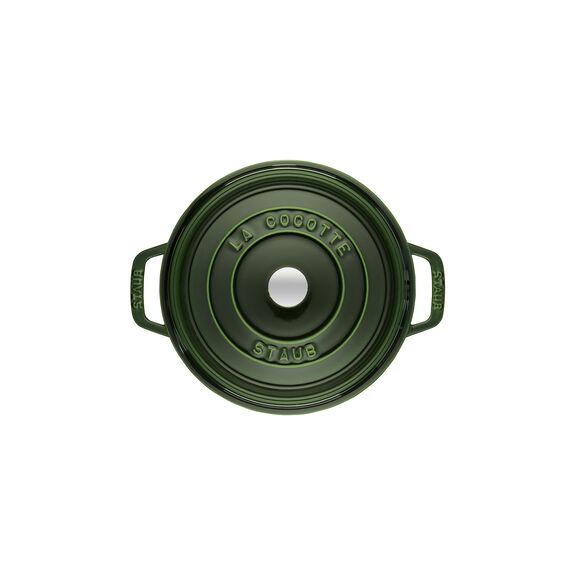 2.75-qt Round Cocotte - Basil,,large 3
