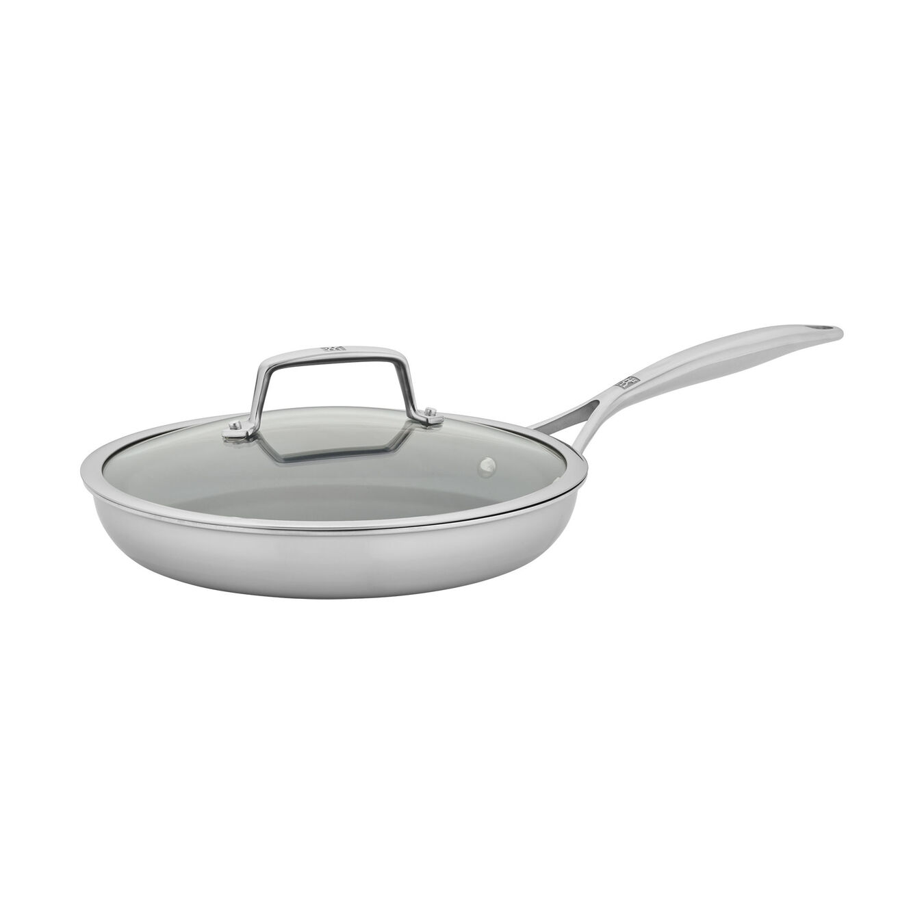 2-pc, 18/10 Stainless Steel, Non-stick, Frying pan set,,large 1