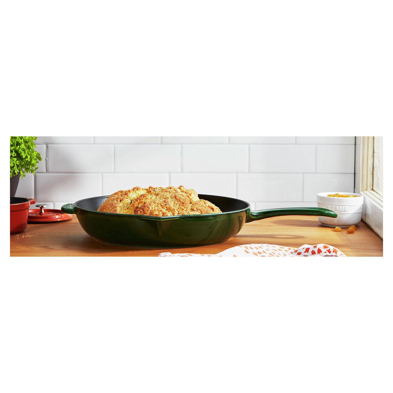 12-inch, Frying pan, basil,,large 3