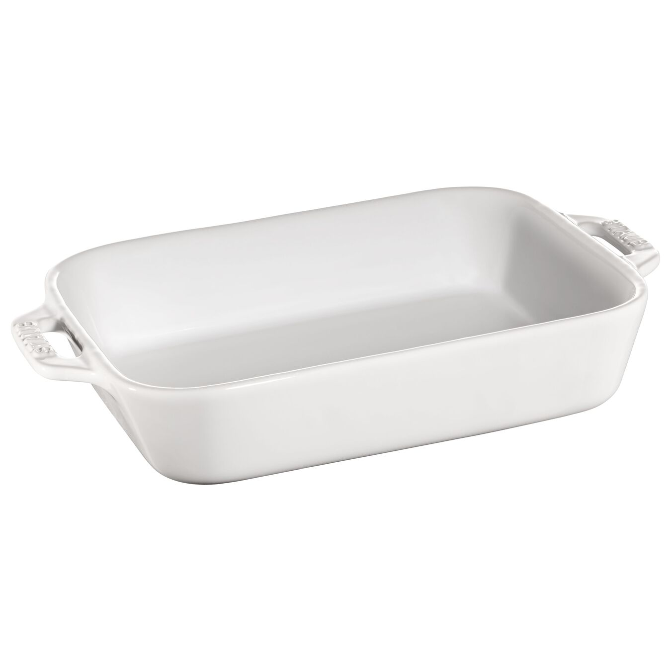 2-pc Rectangular Baking Dish Set - White,,large 3