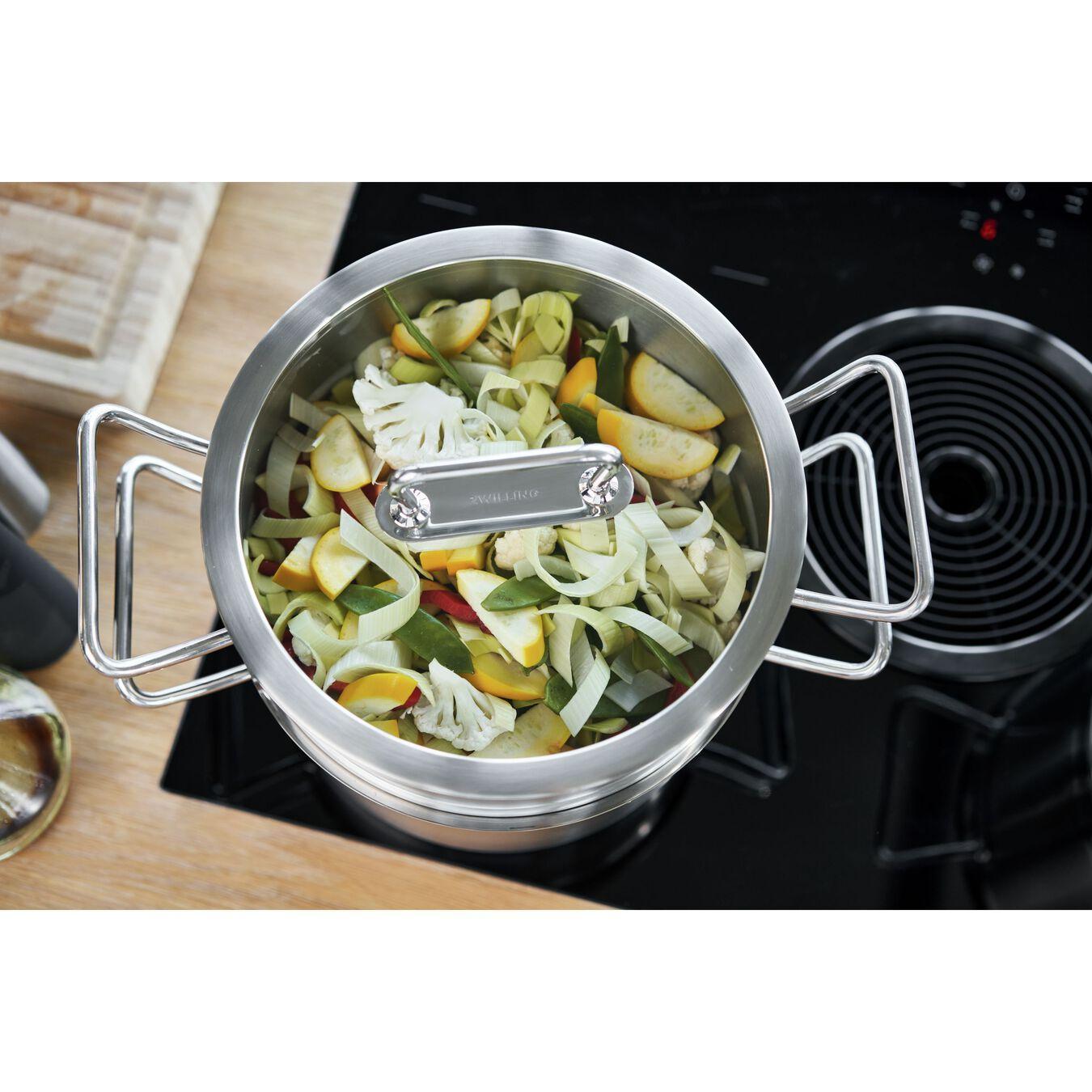 Passoire pour cuit vapeur 24 cm, Inox 18/10,,large 6