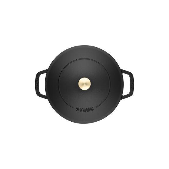 Sote Tenceresi Chistera, 28 cm | Yuvarlak | Sıvı Cam | Siyah,,large 5