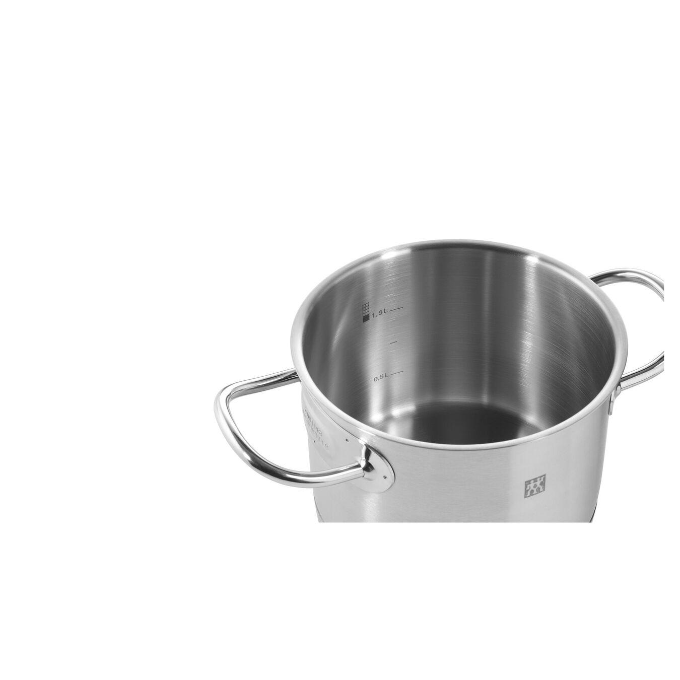 Gryt & kastrullset 4-st, 18/10 Rostfritt stål,,large 3