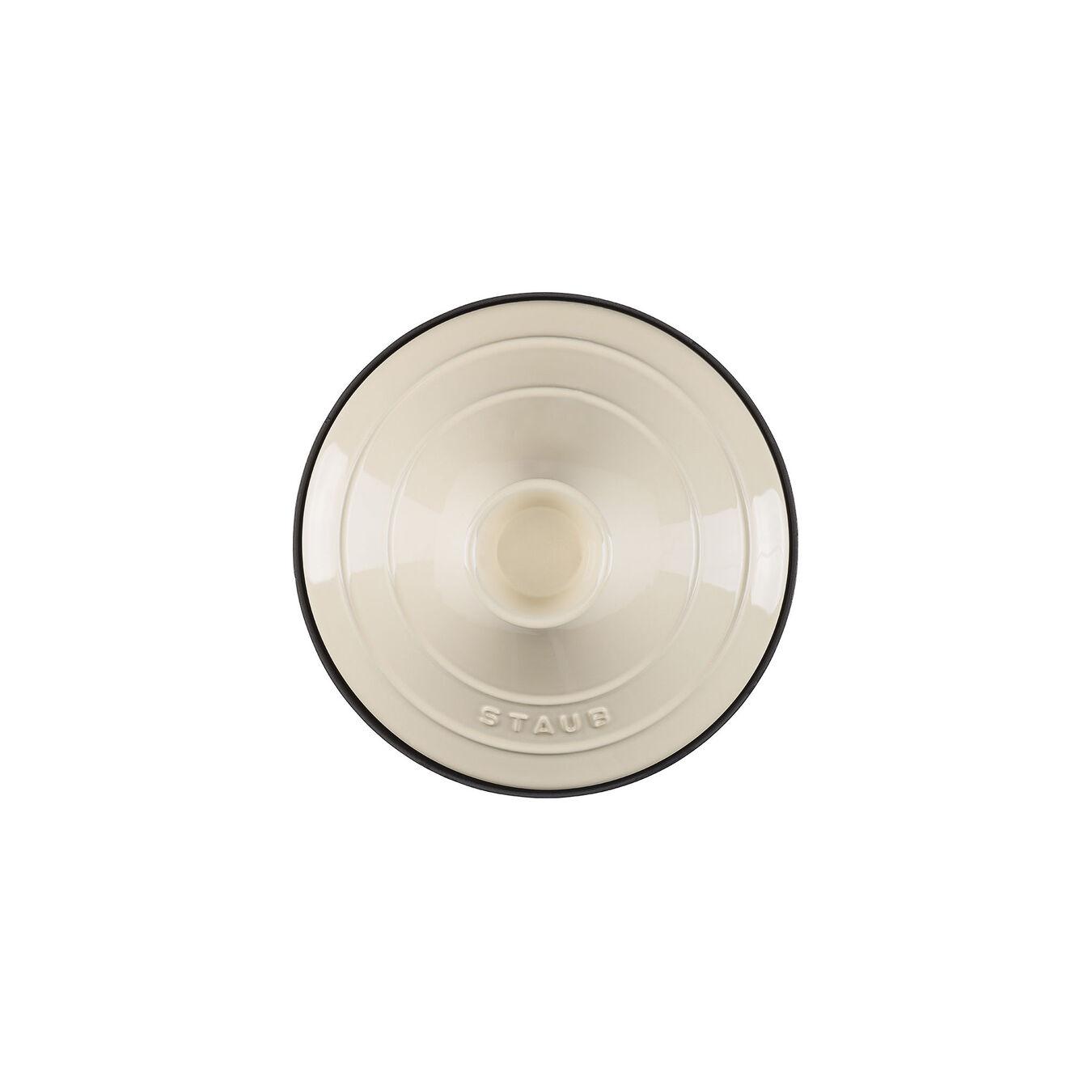 Tajine 20 cm, Gusseisen, Cream,,large 3