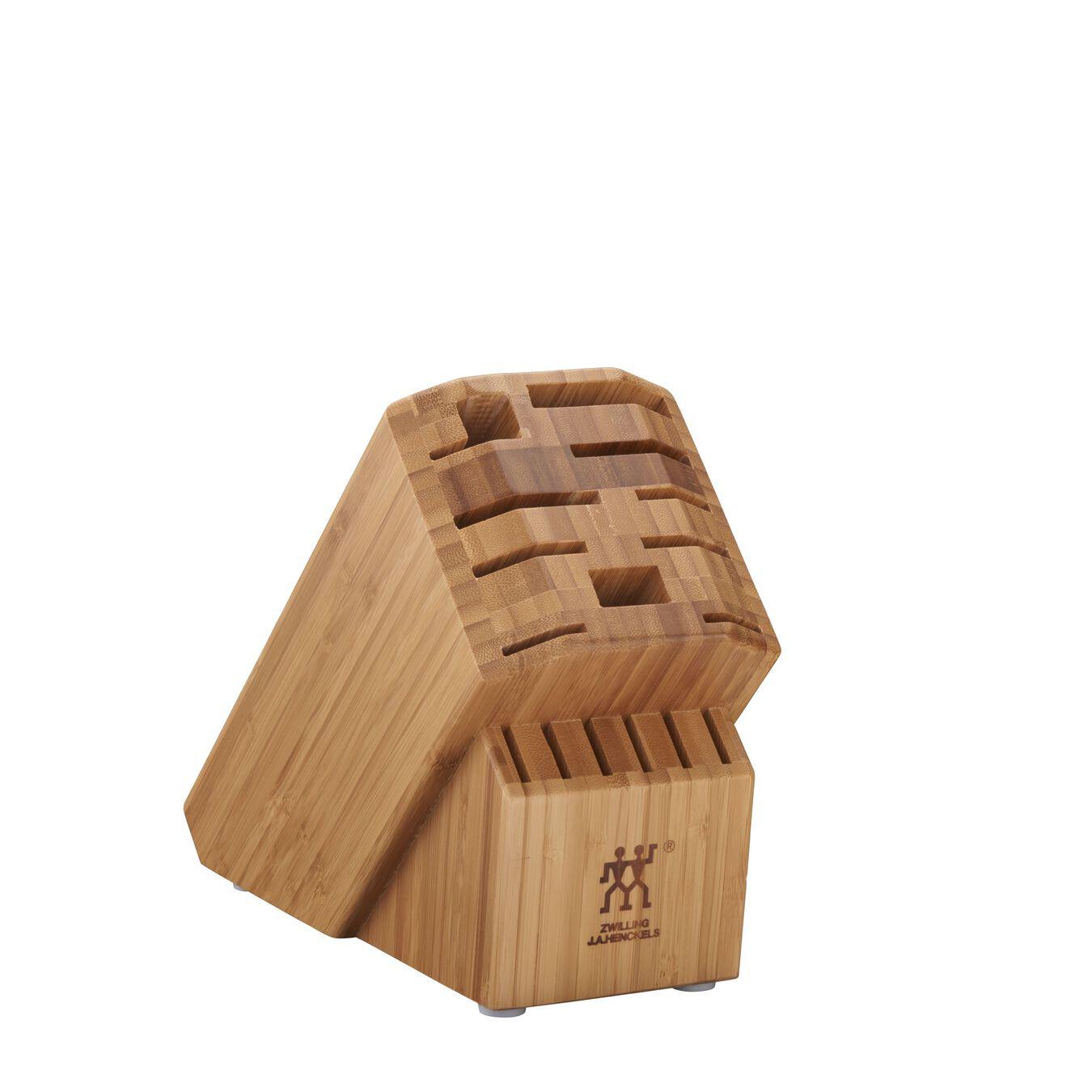 16, bamboo, Pro Knife Block Empty,,large 1