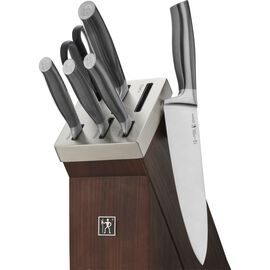 Henckels Graphite, 7-pc, Knife block set, graphite grey