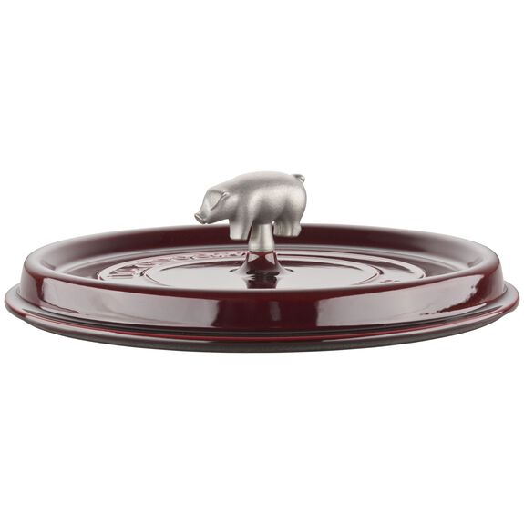 6-qt Cochon Shallow Wide Round Cocotte - Grenadine,,large 6