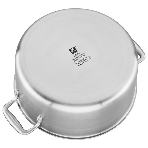 3-ply 8-qt Stainless Steel Ceramic Nonstick Stock Pot,,large