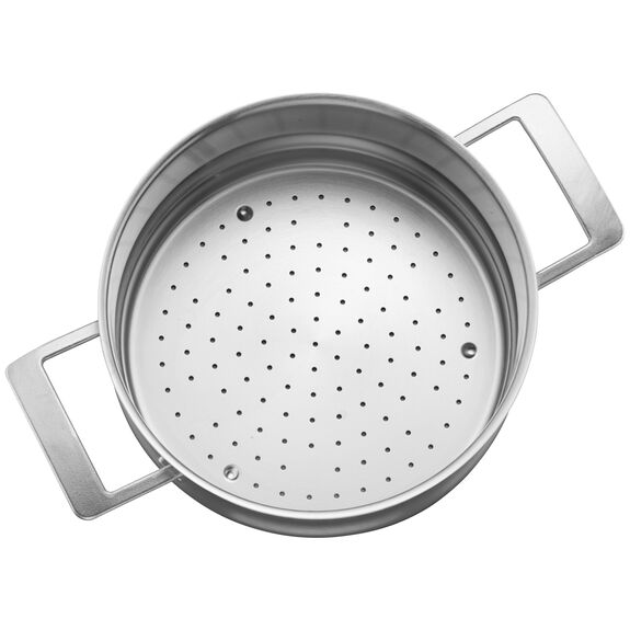 5.5-qt Stainless Steel Steamer Insert (Fits 8-qt Stock Pot & 5.5-qt Dutch Oven),,large 3