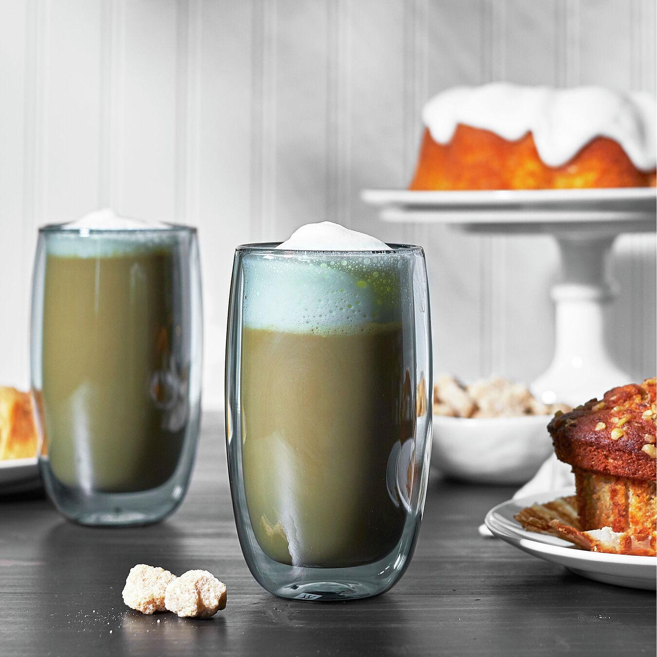 2-pc, Latte glass set,,large 2