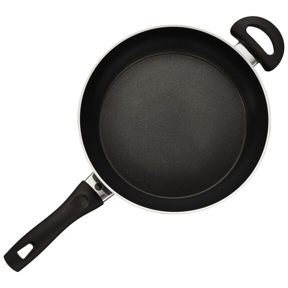 3.9-qt Forged Aluminum Nonstick Saute Pan with Lid, , large 2