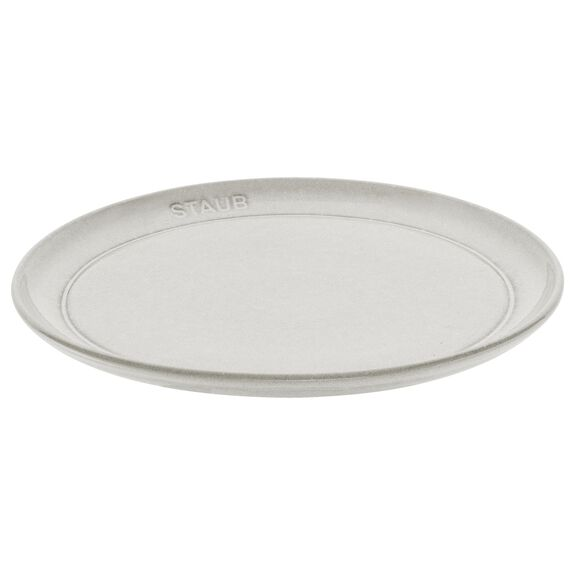 22-cm-/-8.5-inch Ceramic Plate flat,,large