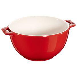 Staub Ceramics, 7-inch Small Serving Bowl - Cherry
