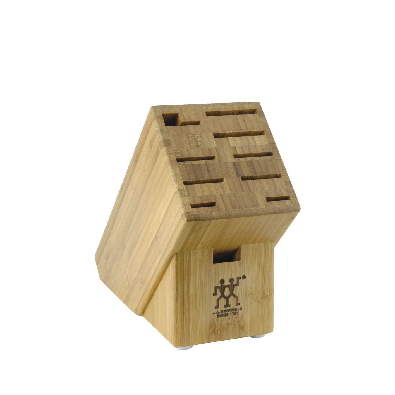 10, bamboo, Knife block empty,,large 1