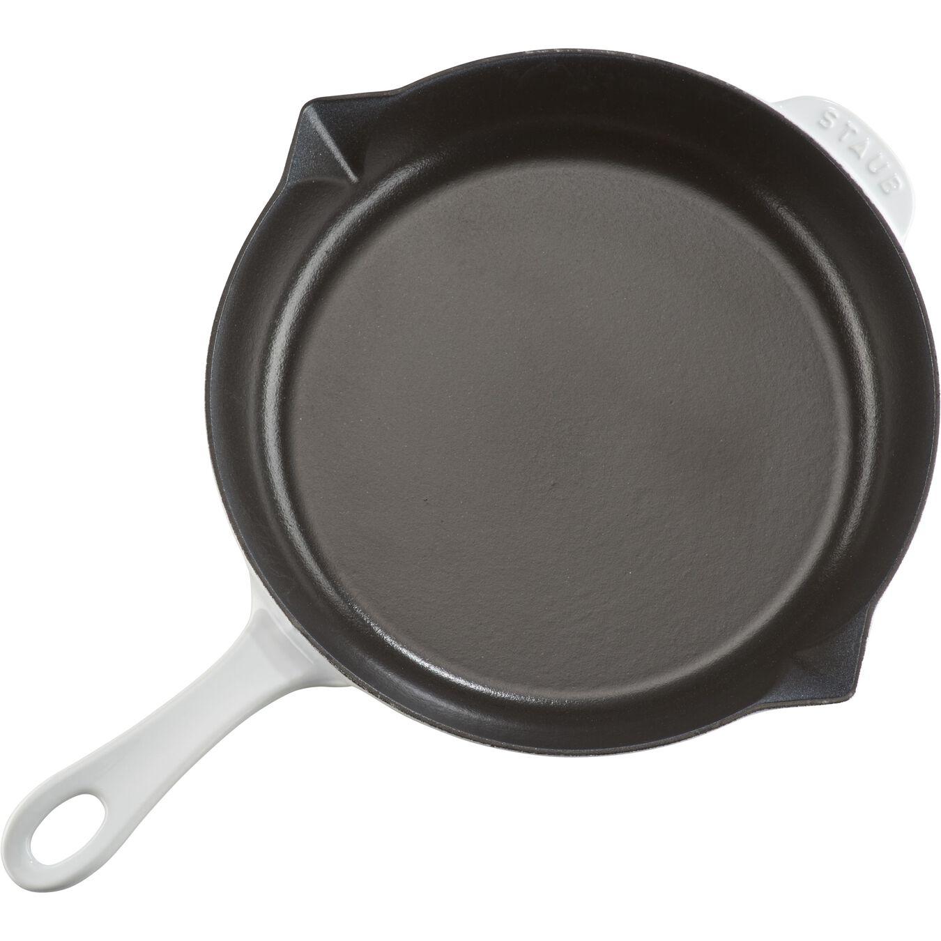 10-inch Fry Pan - White,,large 2