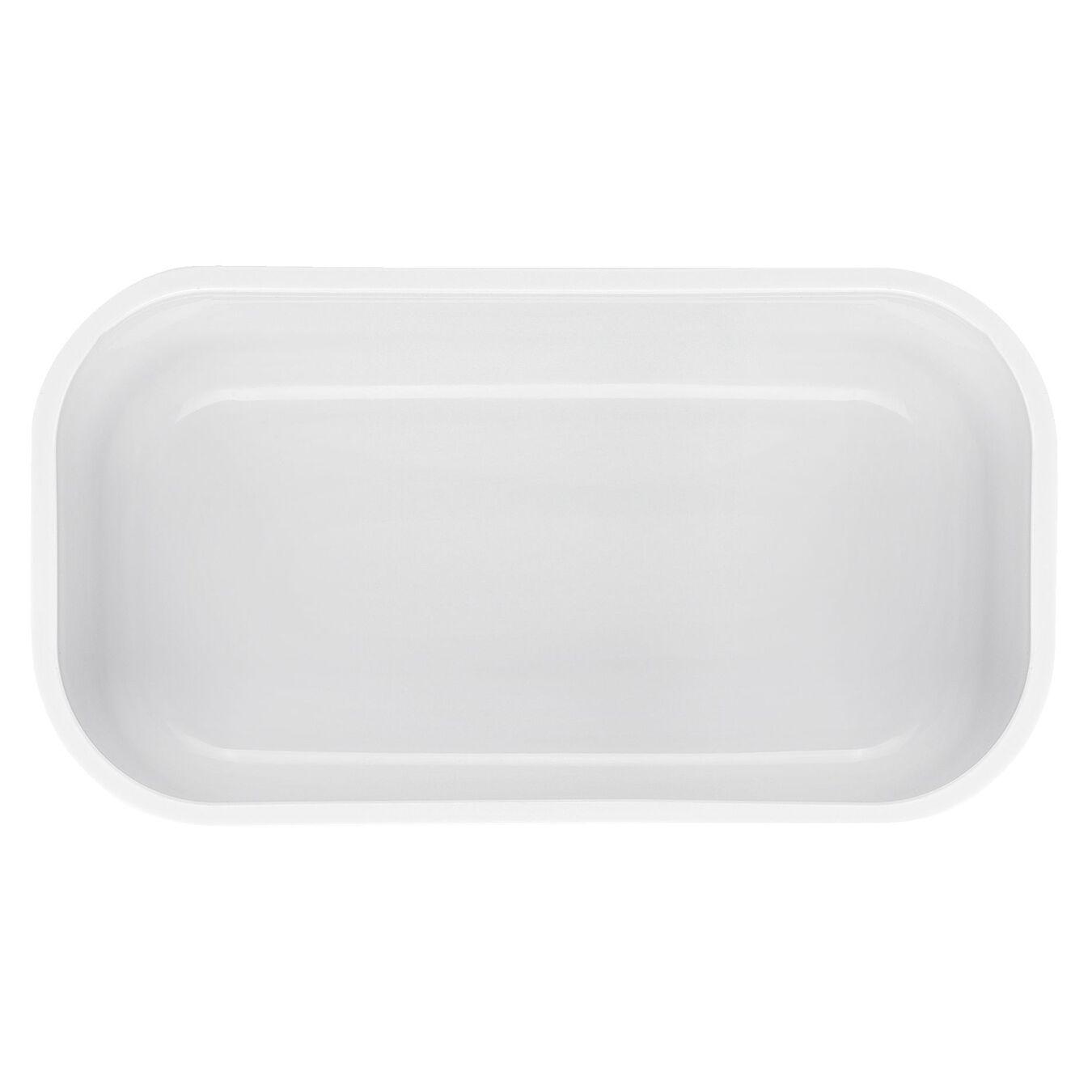 Vakuum Lunchbox, S, Kunststoff, Weiß,,large 3