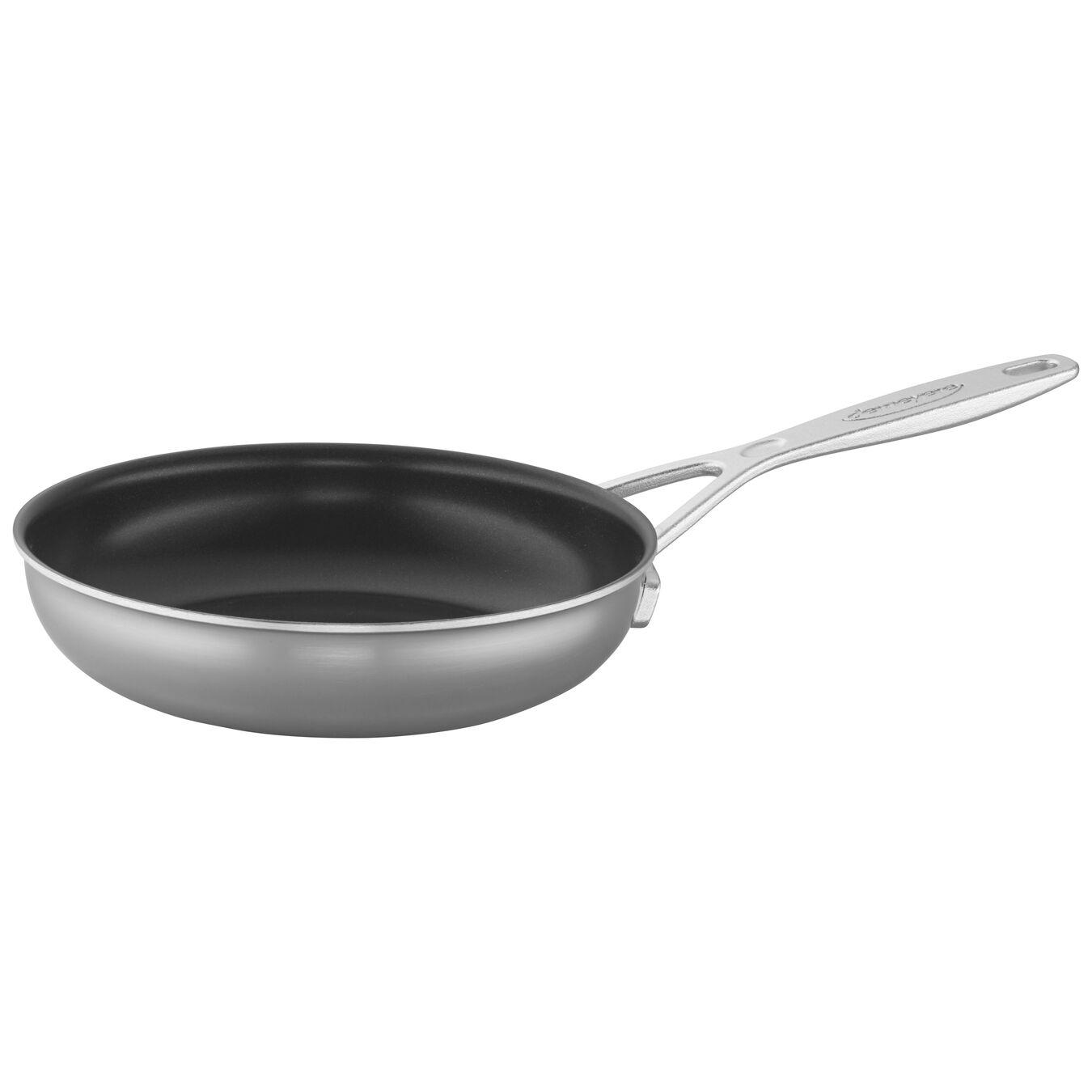 Poêle 20 cm, Inox 18/10, Silver-Black,,large 3