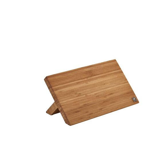 Bamboo Magnetic Easel - holds 9 knives,,large 5