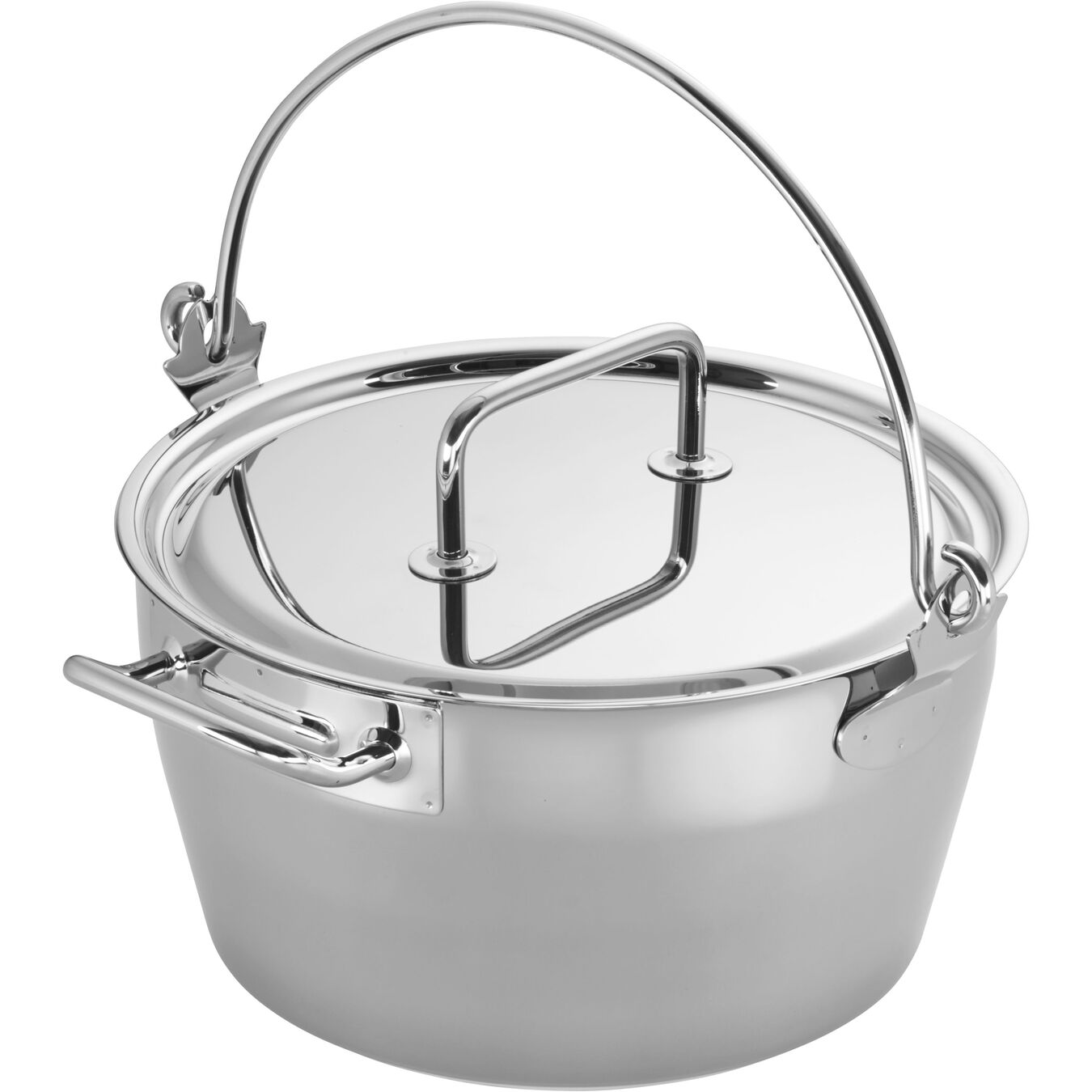 10.6-qt Stainless Steel Maslin Pan,,large 2