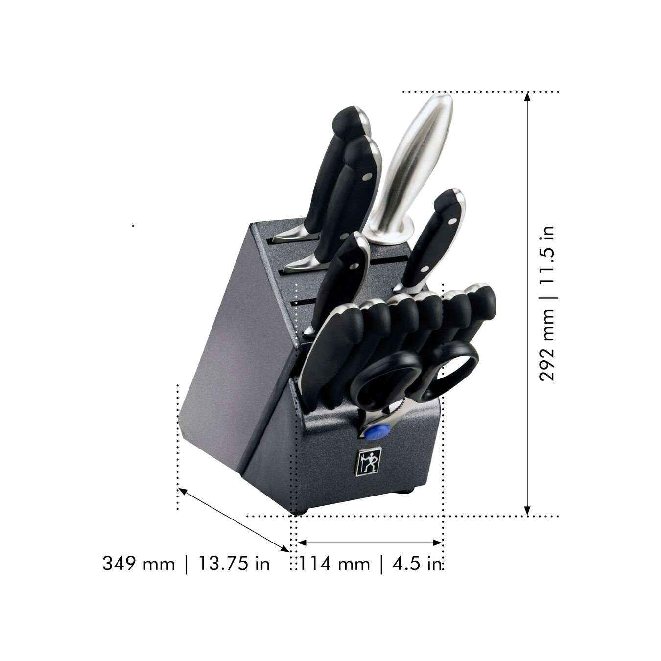 13-pc, Knife block set,,large 2