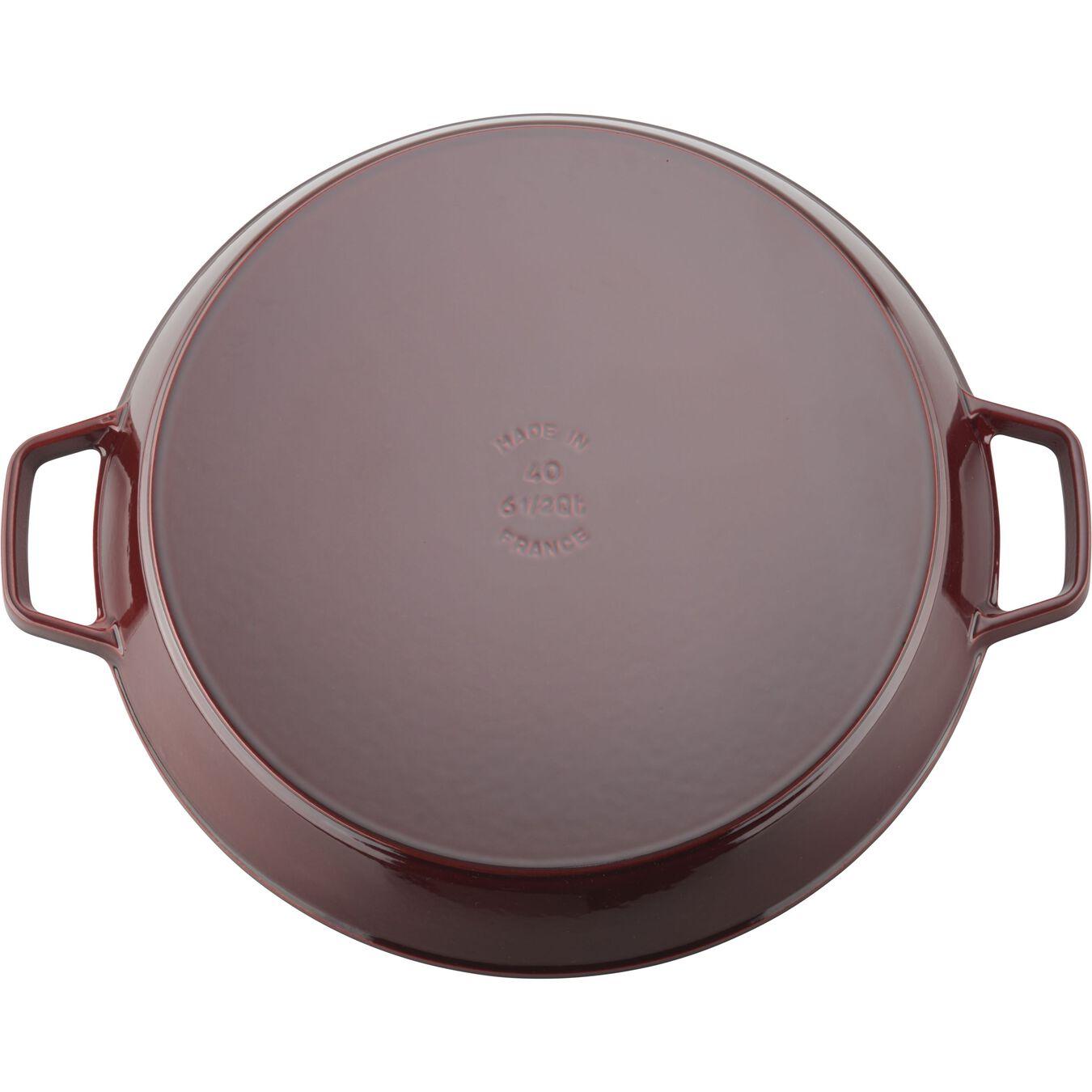 15-inch Double Handle Fry Pan / Paella Pan - Grenadine,,large 3
