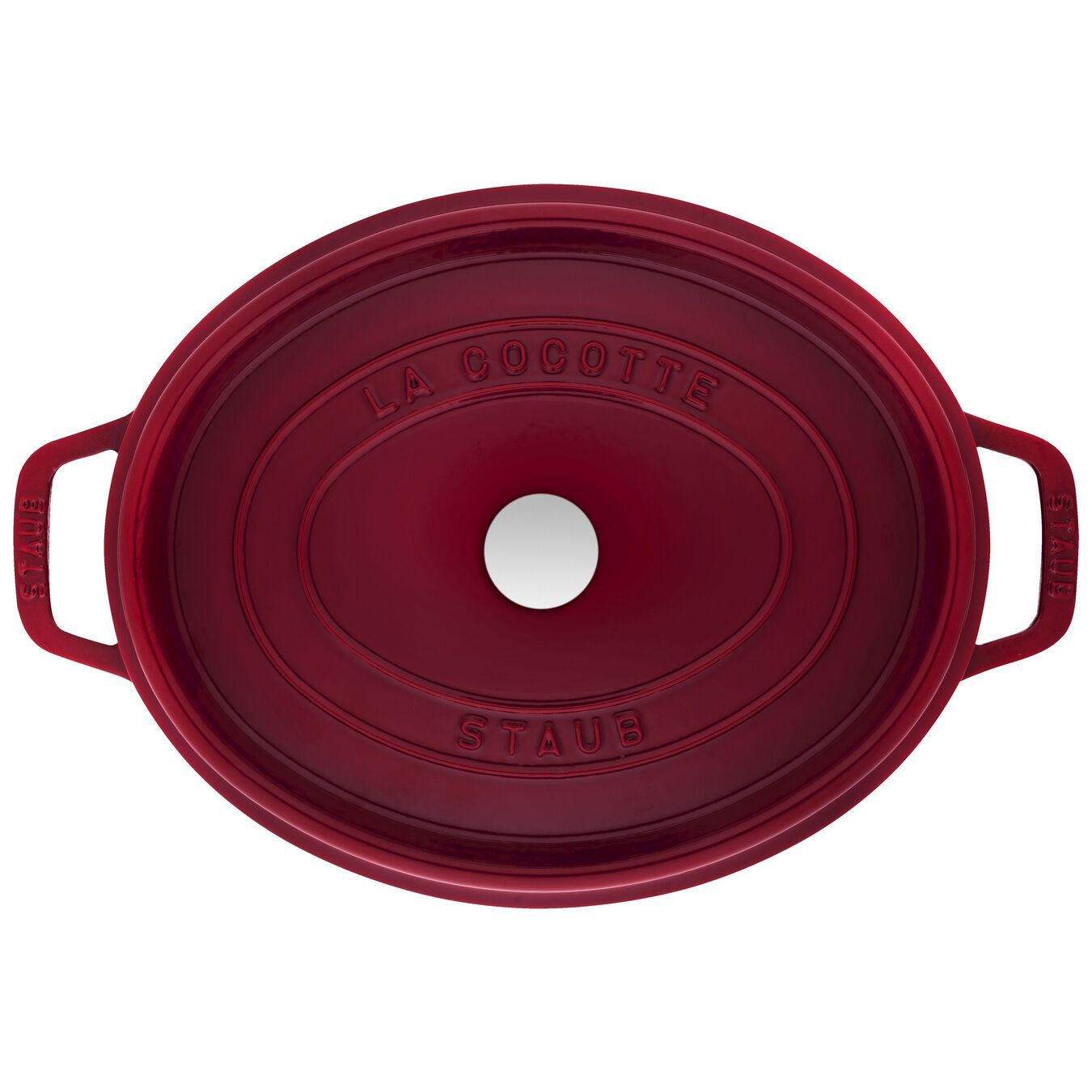 5.5 l Cast iron oval Cocotte, Bordeaux - Visual Imperfections,,large 3