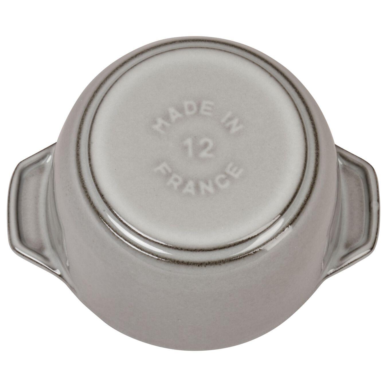 750 ml Cast iron round Cocotte à riz, Graphite-Grey,,large 4