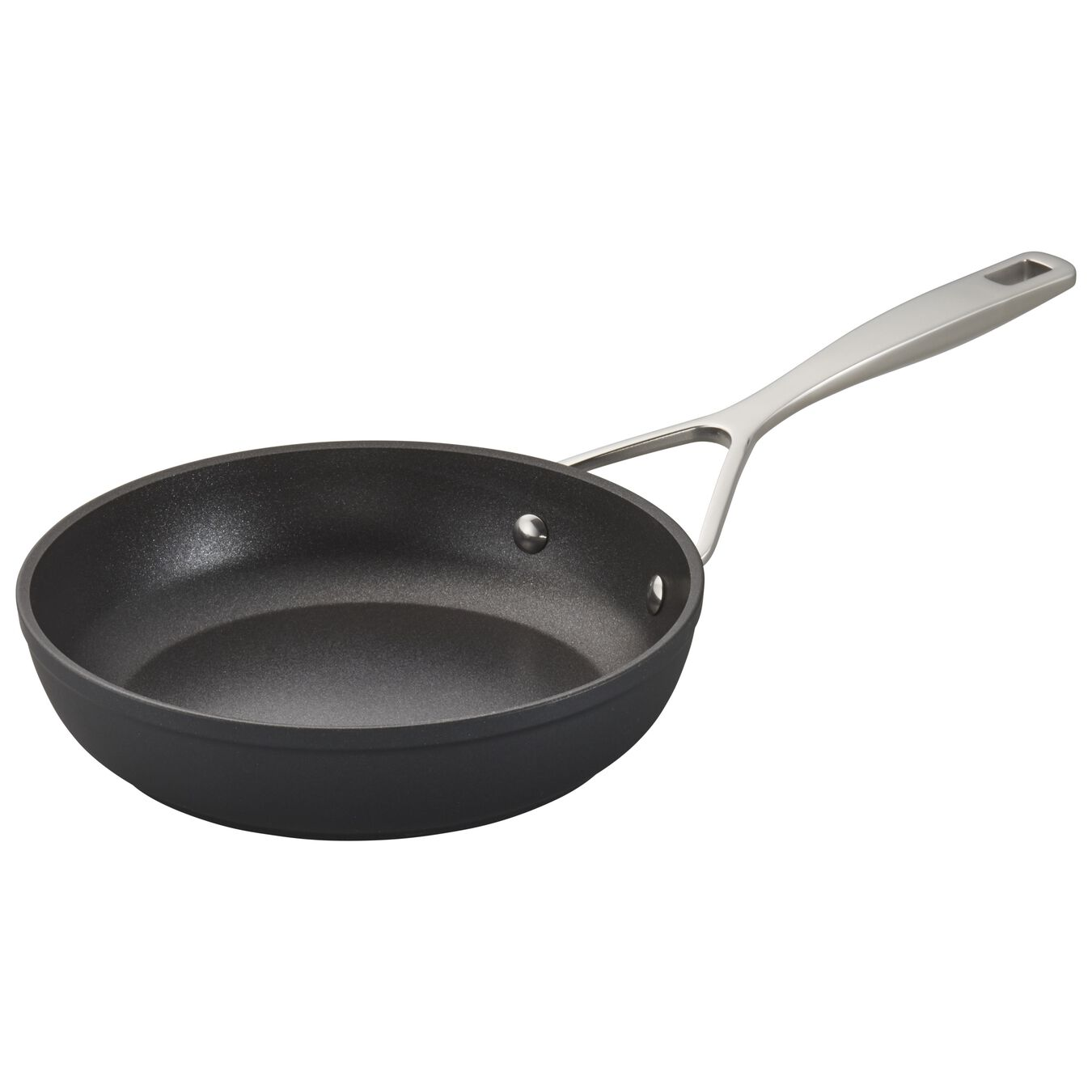 Poêle 20 cm, Aluminium, Silver-Black,,large 3