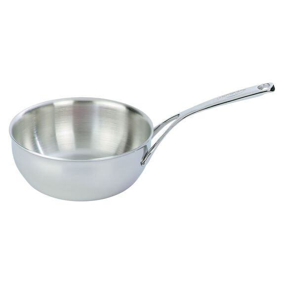 Sauteuse conical, 20 cm | round | Silver,,large 2