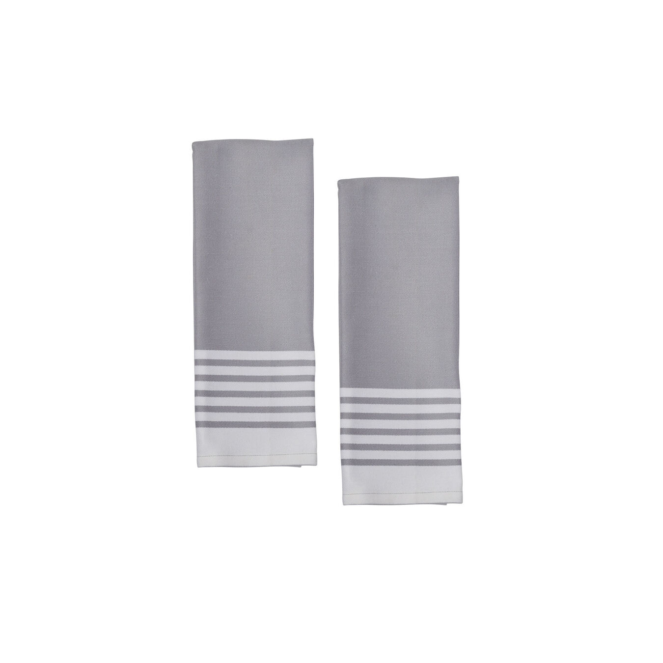 Kitchen towel, grey,,large 2