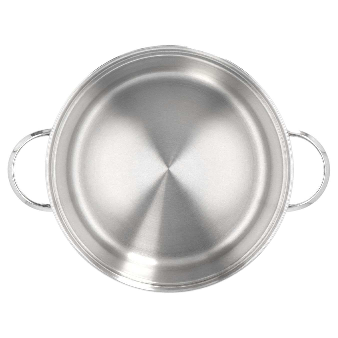 101.5-oz, 18/10 Stainless Steel, Mussel pot, silver,,large 2