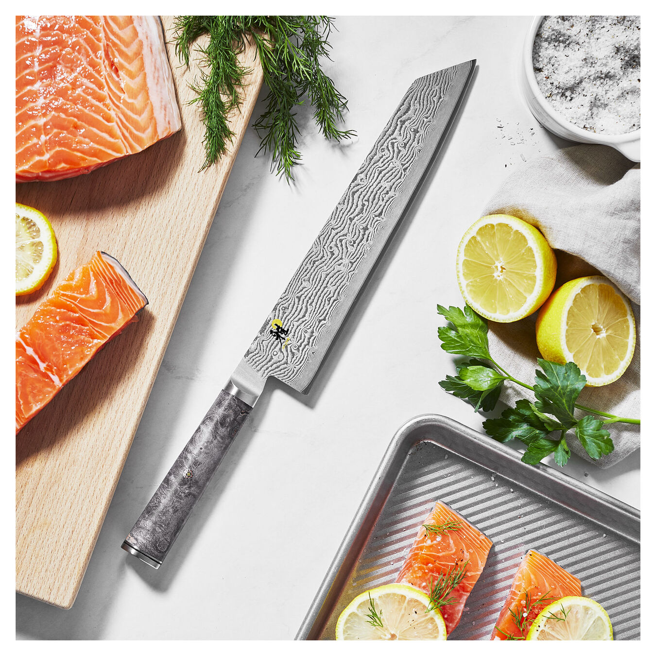 9.5-inch, Kiritsuke Knife,,large 3