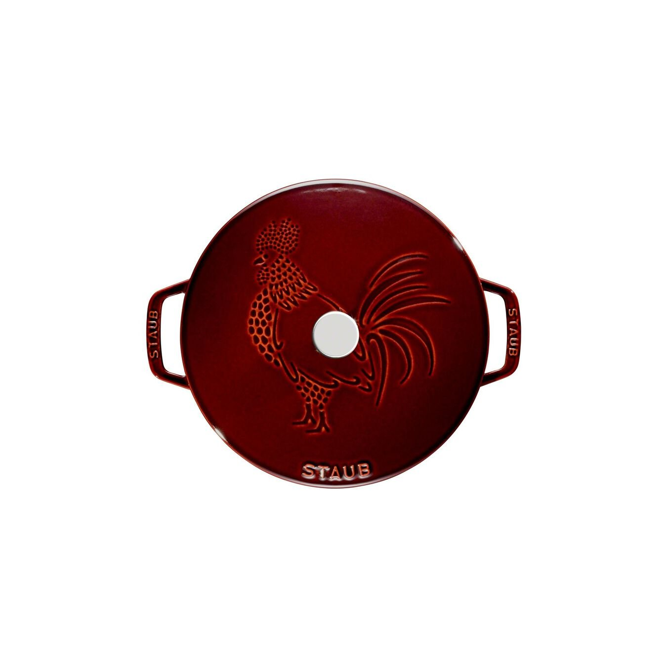 3.6 l Cast iron round French oven, Grenadine-Red,,large 11