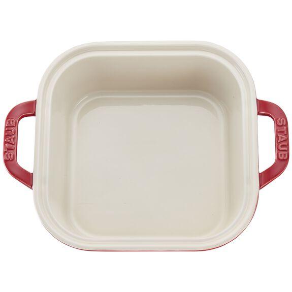Ceramic Square Covered Baking Dish,,large 3