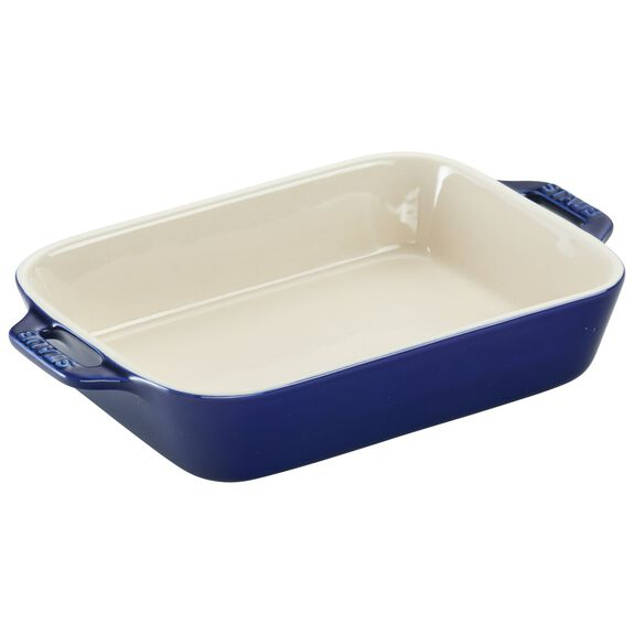 Ceramic Special shape bakeware, Dark Blue,,large 2
