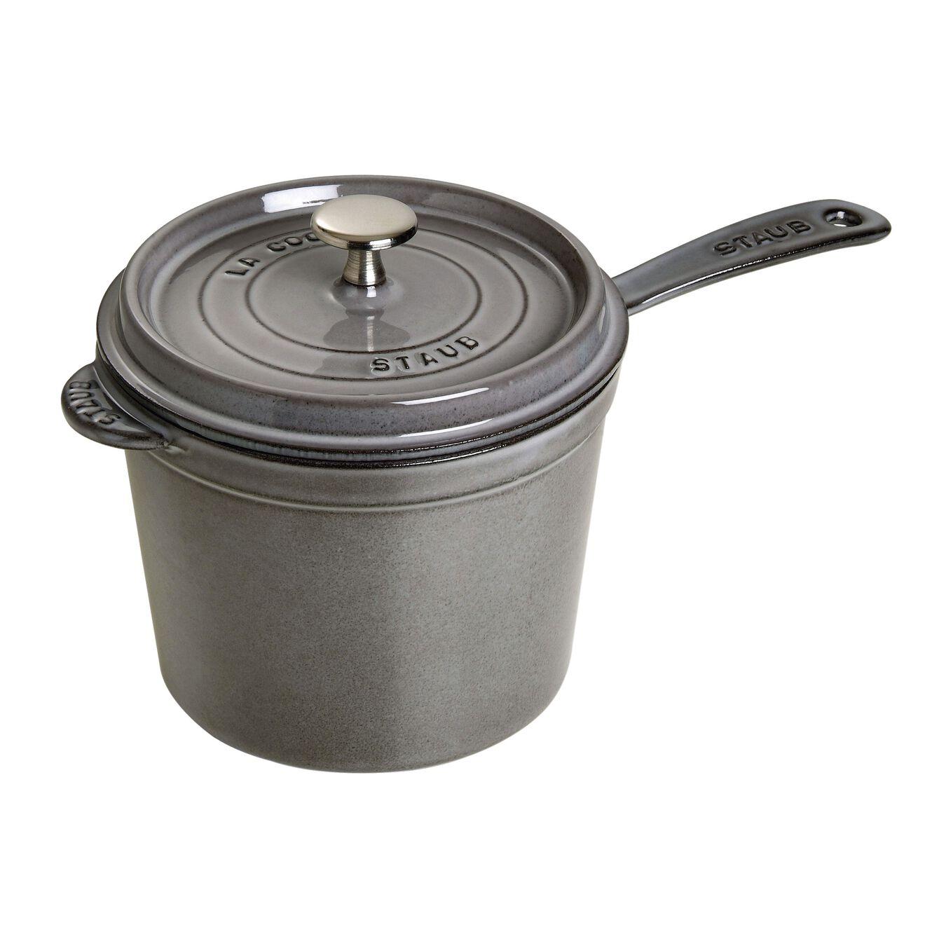 2,75 l Cast iron round Casserole, Graphite-Grey,,large 2