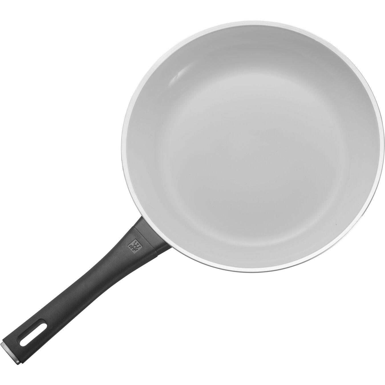 "11"" Aluminum Fry Pan Ceramic Nonstick,,large 1"