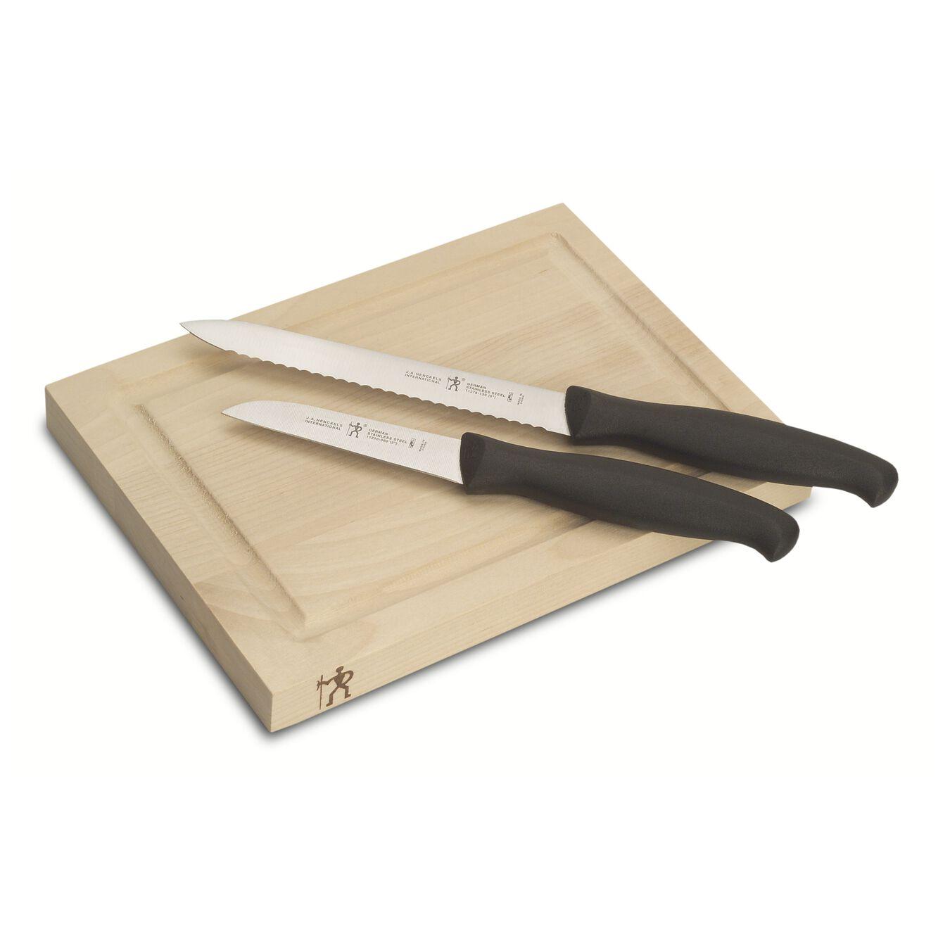 3-pc Bar Knife & Board Set,,large 1