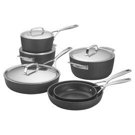Demeyere AluPro, 10-pc, Aluminum Nonstick Cookware Set