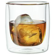 9 oz Double-Wall Tumbler Glass 2-pc Set