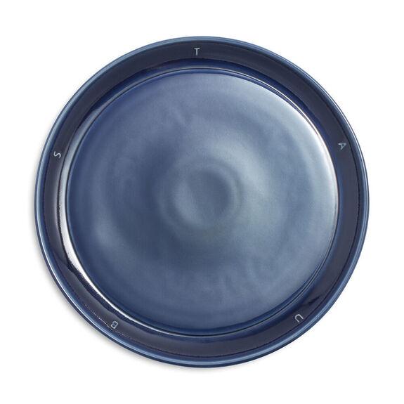 "8.5-inch Ceramic Salad Plate 22cm / 8.6"" - Dark Blue,,large"